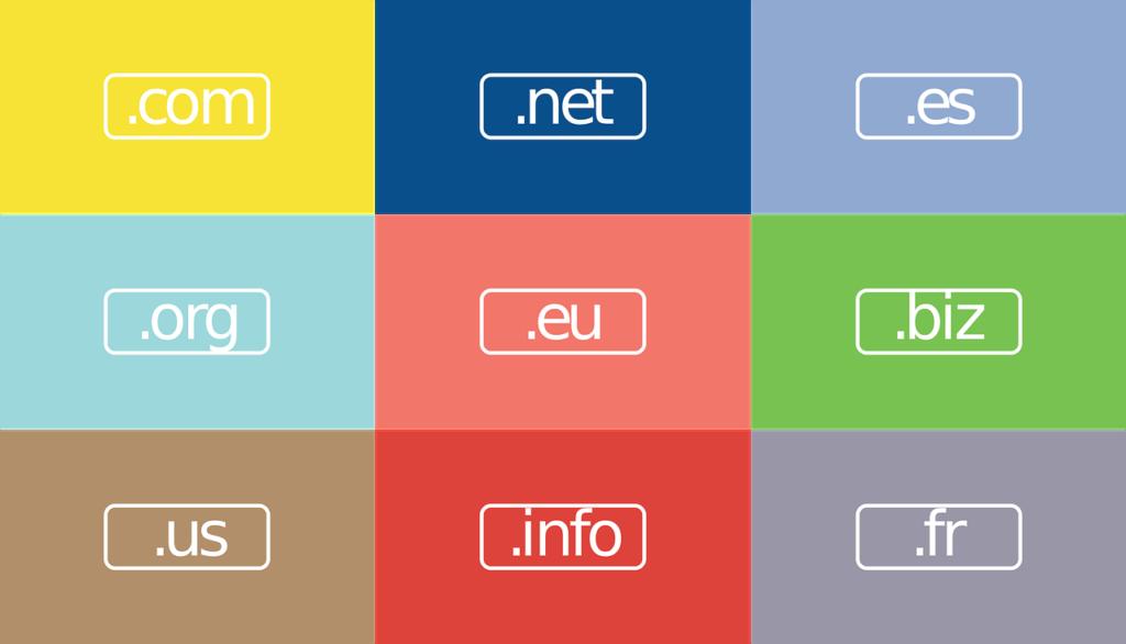 tipos de tld o dominios web de nivel superior