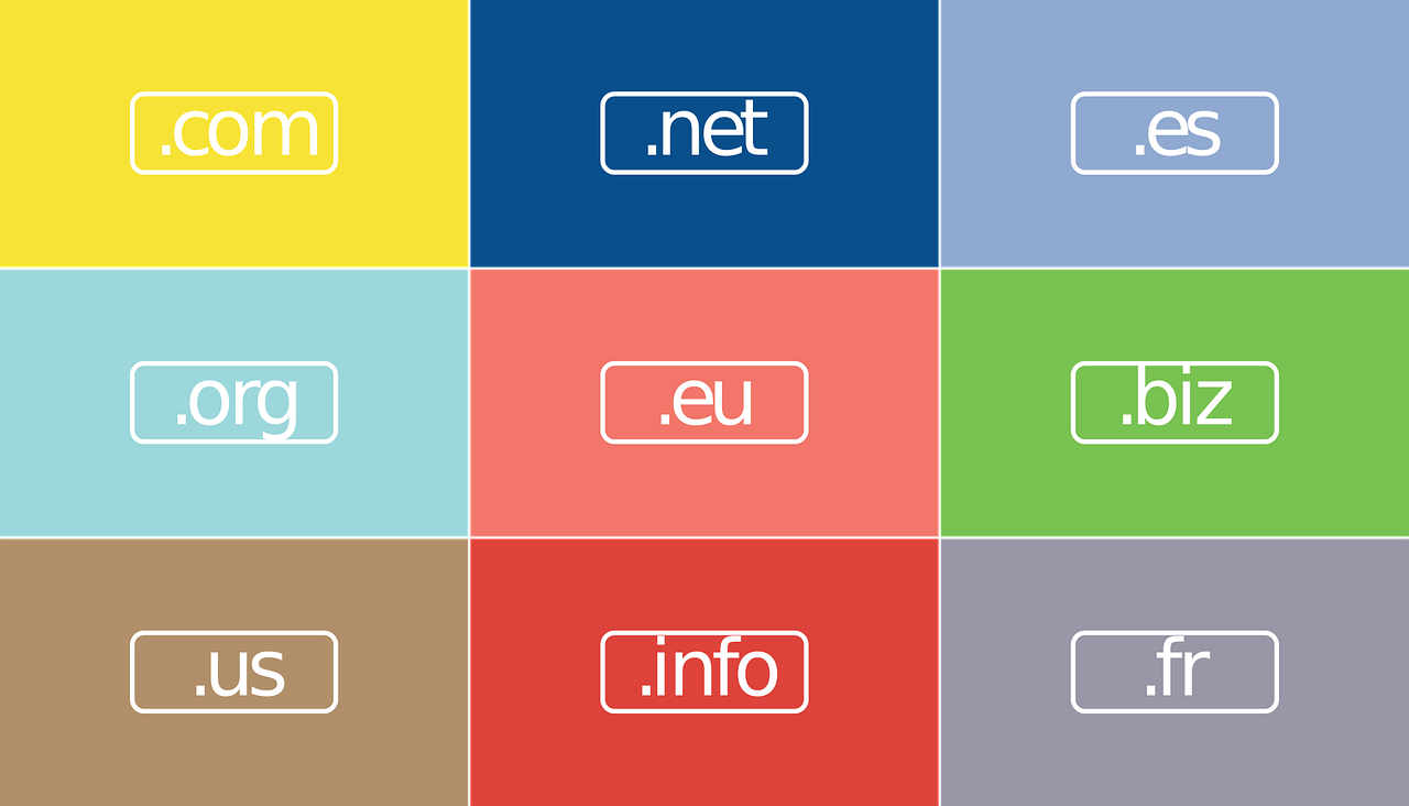 Tipos de TLD (Top Level Domains)
